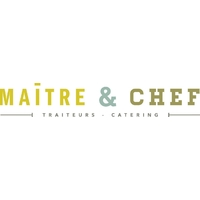 Maître & Chef traiteurs logo Restauration Événements hotellerie emploi