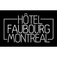 Hôtel Faubourg Montréal logo Hospitality hotellerie emploi