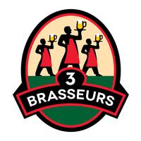 3 BRASSEURS logo