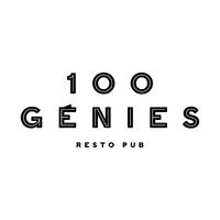 resto pub 100 génies logo