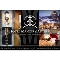 Hôtel Manoir d'Auteuil logo Hôtellerie Tourisme Divers hotellerie emploi