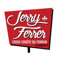 Jerry Ferrer casse-croûte du terroir par Europea Boucherville logo