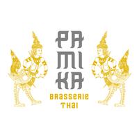 Pamika Brasserie Thai logo