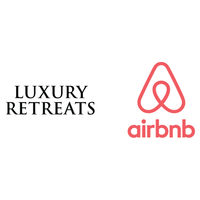 Luxury Retreats/Airbnb logo
