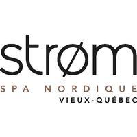 Strom Spa Nordique Vieux-Québec logo Tourisme Spas et détente Santé hotellerie emploi