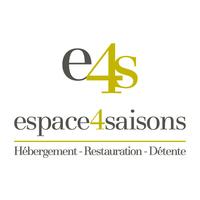 Hôtel Espace 4 Saisons logo Hôtellerie Restauration Événements hotellerie emploi