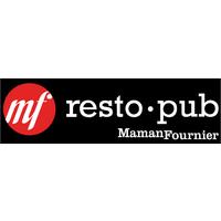 MF Resto pub signé Maman Fournier logo