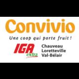 Coopérative des consommateurs de Lorette - Convivio logo Alimentation hotellerie emploi