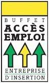 Buffet Accès Emploi logo Restauration Événements Alimentation hotellerie emploi