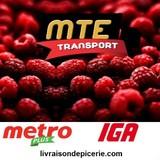 Transport MTE INC. logo COVID19  hotellerie emploi