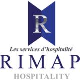 Les Services d'Hospitalité Rimap logo Hospitality Food services hotellerie emploi